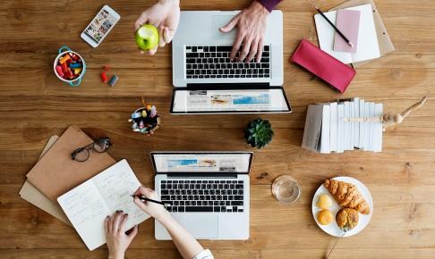 Redes Sociales de varias empresas
